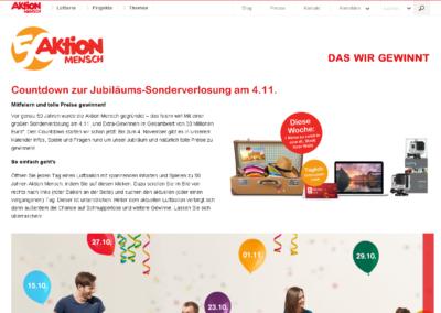 Aktion Mensch – Countdown Calendar