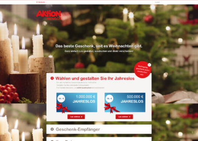 Aktion Mensch – Christmas 2015