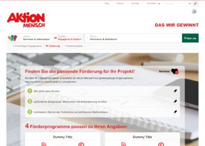 Aktion Mensch – Financial Aid -Finder