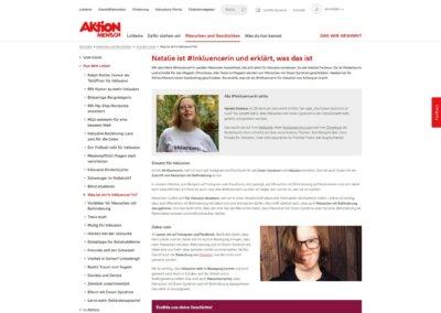 "Aktion Mensch – ""Inkluencer"" Campaign"